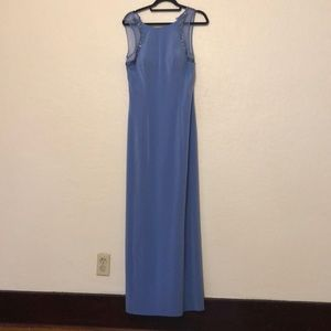 CASSANDRA STONE | Purple Floor Length Dress - Sz10